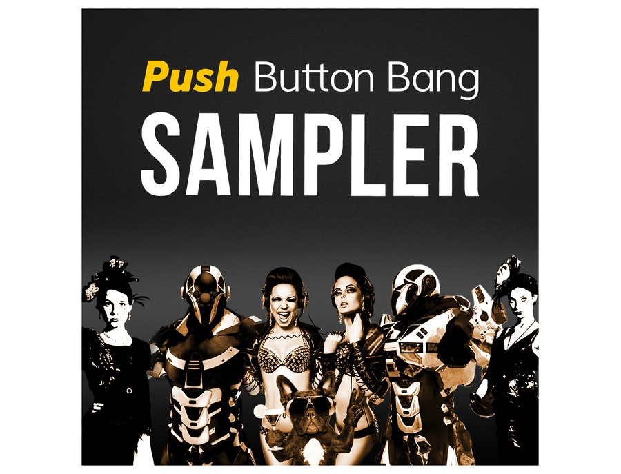 Push Button Bang Label Sampler 3