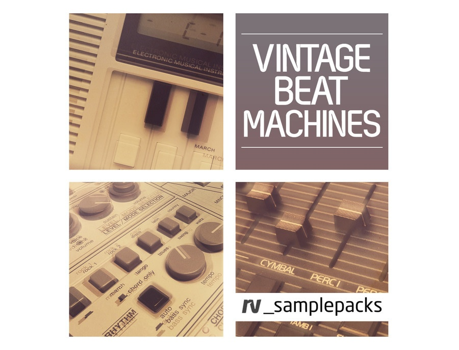 RV Samplepacks Vintage Beat Machines Reviews & Prices | Equipboard®