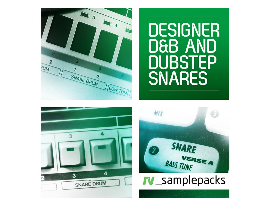 RV Samplepacks Designer D&B and Dubstep Snares