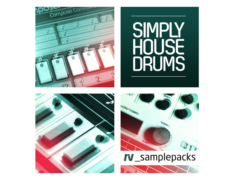 RV Samplepacks Simply House Drums