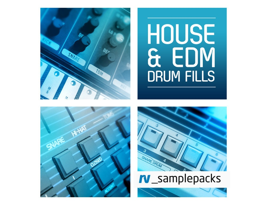 RV Samplepacks House & EDM Drum Fills
