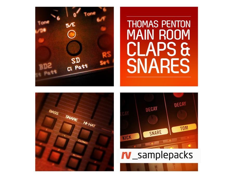 RV Samplepacks Thomas Penton Main Room Claps & Snares