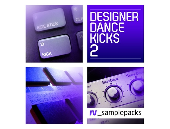 RV Samplepacks Designer Dance Kicks Vol. 2