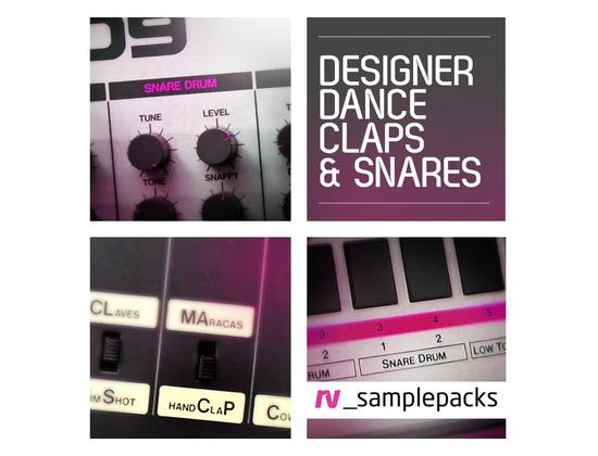 RV Samplepacks Designer Dance Claps  Snares & Stax