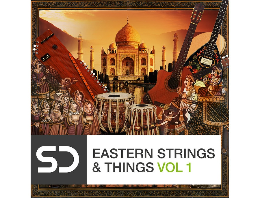 Sample Diggers Eastern Strings & Things Vol 1