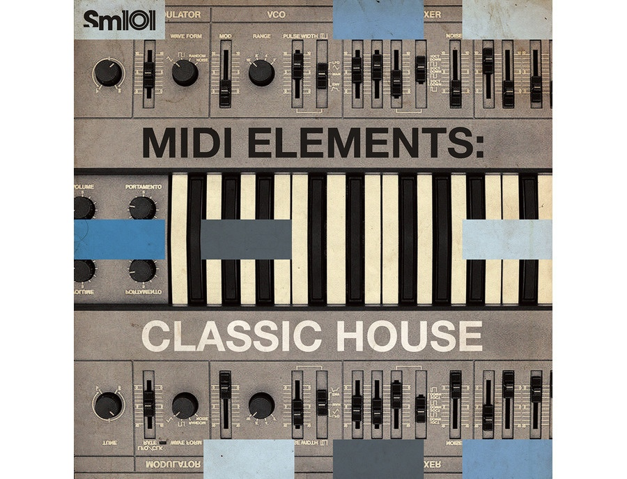 Sample Magic MIDI Elements - Classic House