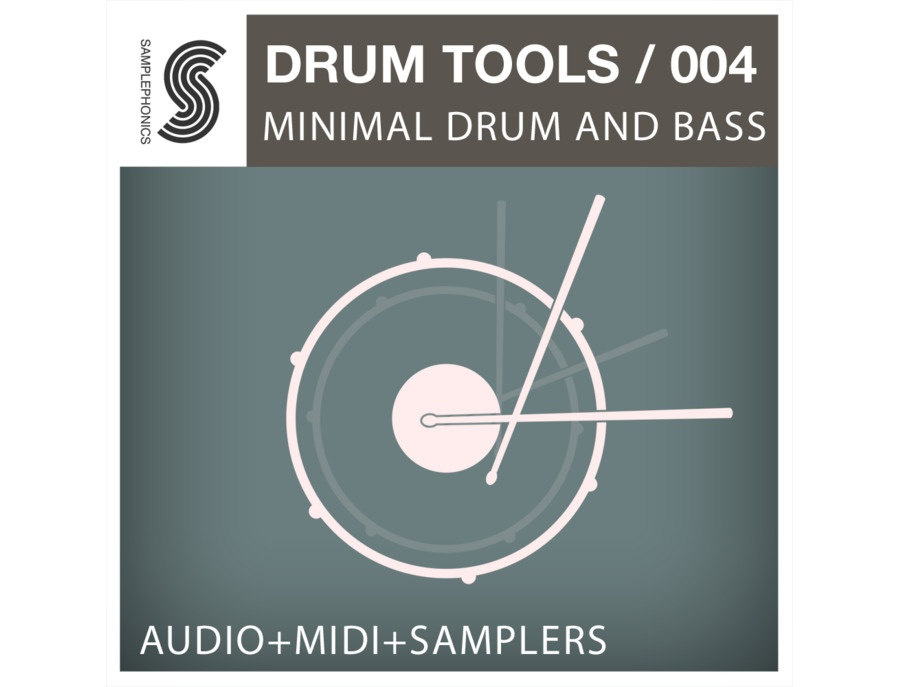 Samplephonics Drum Tools 004 - Minimal Drum & Bass