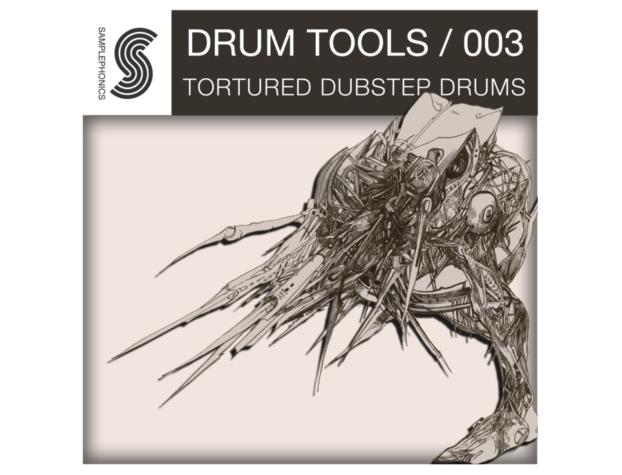 Samplephonics Tortured Dubstep Drums