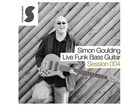 Samplephonics Simon Goulding - Live Funky Bass Guitar