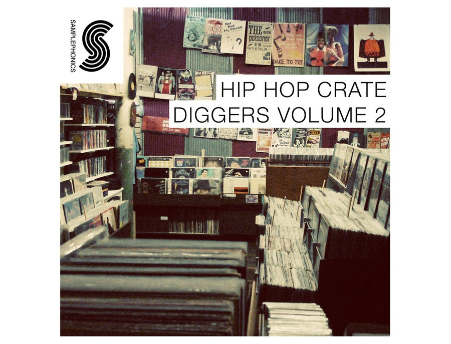 Samplephonics Hip Hop Crate Diggers Volume 2