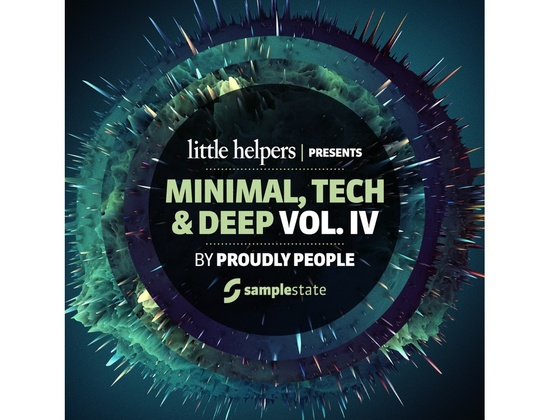 Samplestate Little Helpers Vol 4 â?? Proudly People
