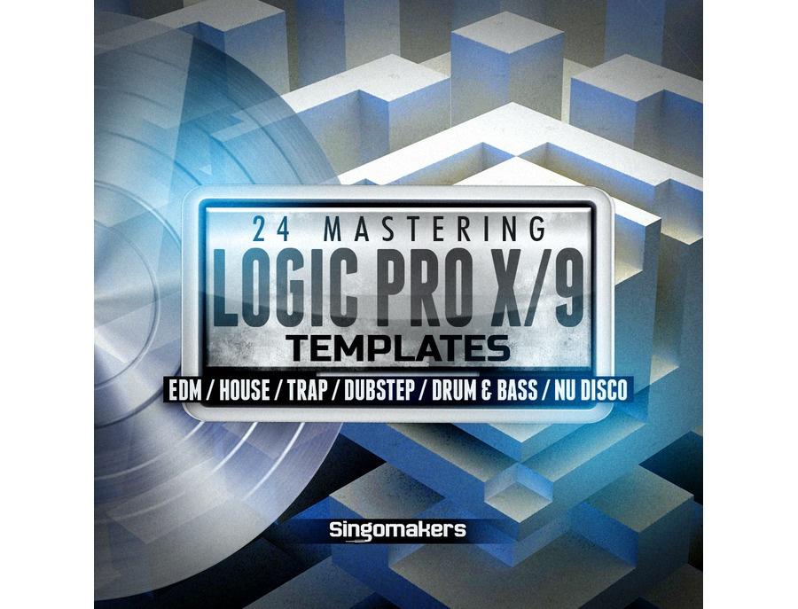 Singomakers Logic Pro X/9 Mastering Templates