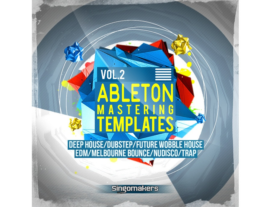 Singomakers Ableton Mastering Templates Vol. 2