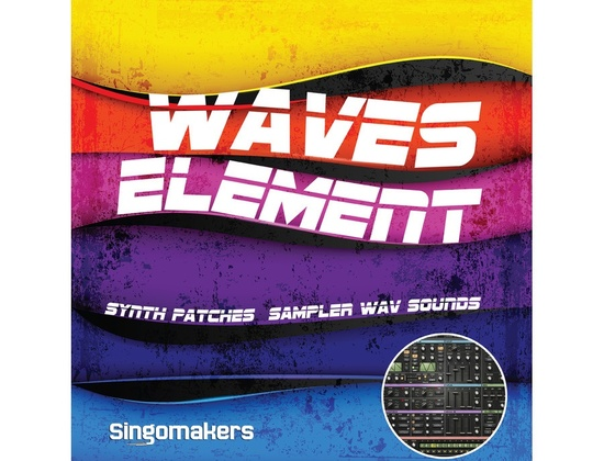 Singomakers Waves Element Synth Patches