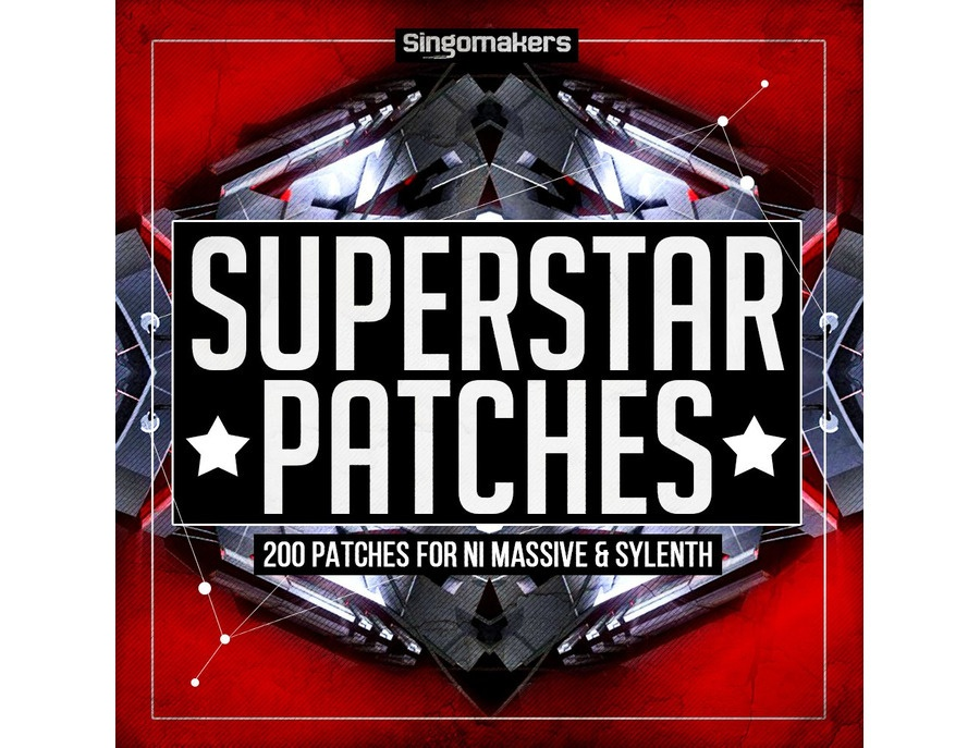 Singomakers Superstar Patches - Massive & Sylenth