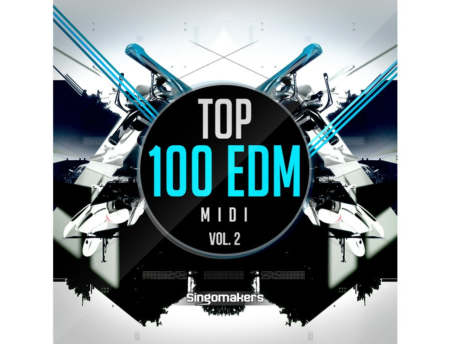 Singomakers Top 100 EDM MIDI Vol. 2