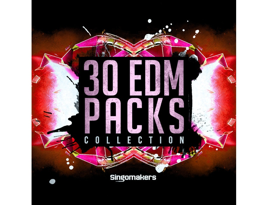 Singomakers 30 EDM Packs Collection