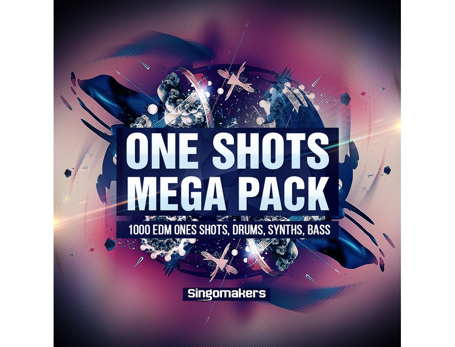 Singomakers EDM One Shots Mega Pack