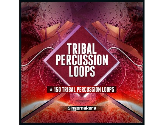 Singomakers Tribal Percussion Loops