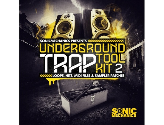 Sonic Mechanics Underground Trap Tool Kit 2