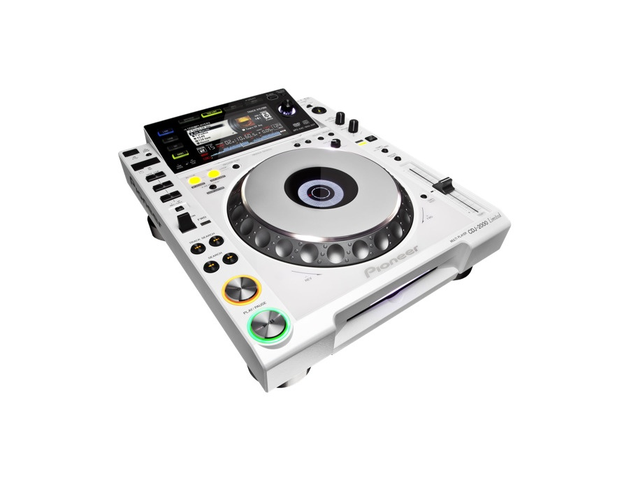 Pioneer CDJ-2000 Limited Edition White