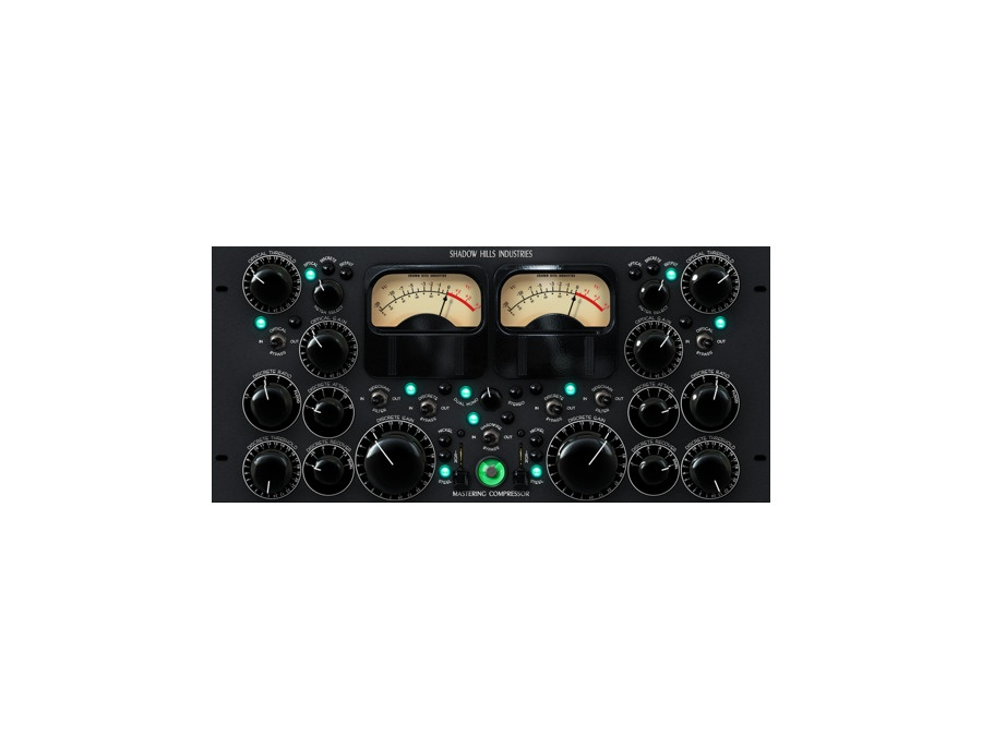 Universal audio shadow hills software mastering compressor plug in xl