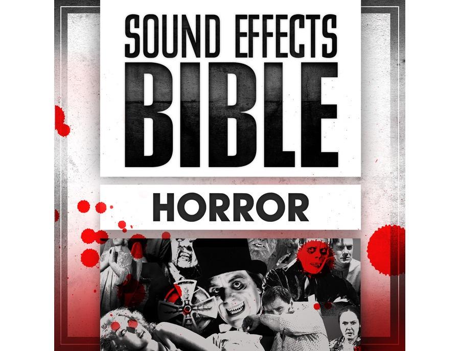 Sound effects bible horror xl