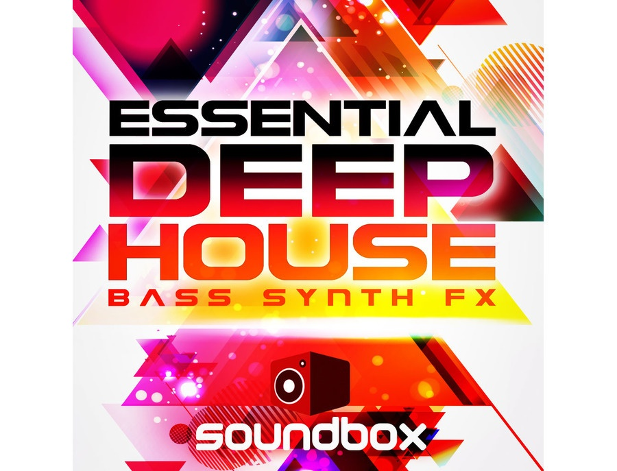 Soundbox Essential Deep House Bass, Synths & FX