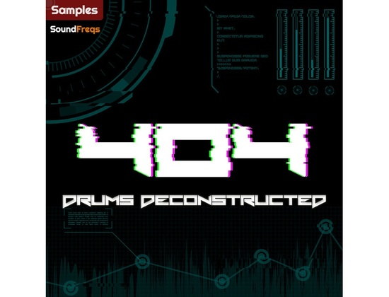 SoundFreqs 404 Drums Deconstructed