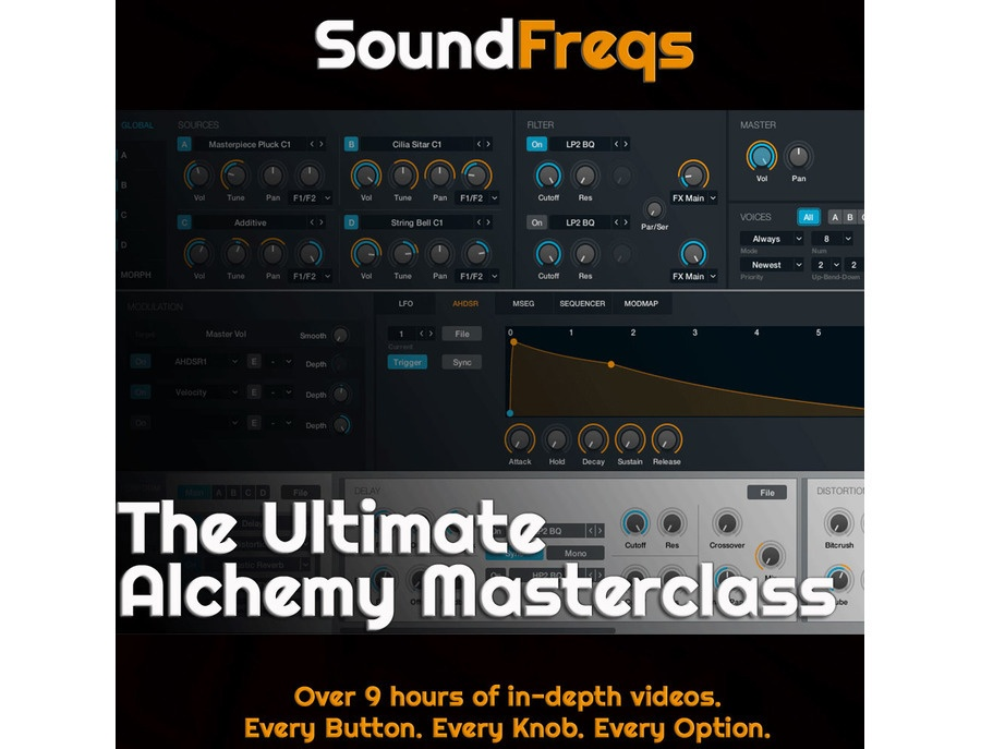 SoundFreqs The Ultimate Alchemy Masterclass