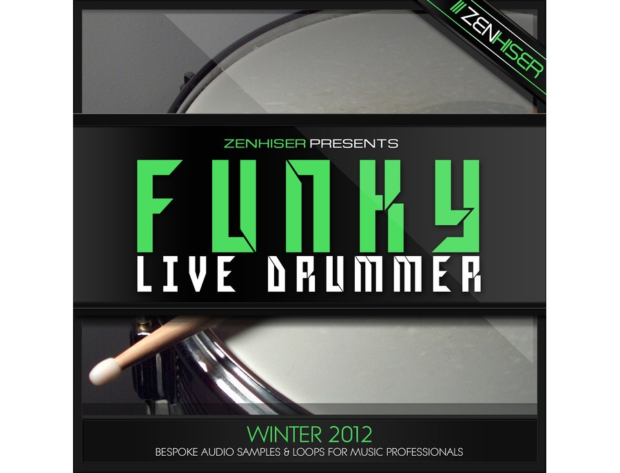 Zenhiser The Funky Live Drummer