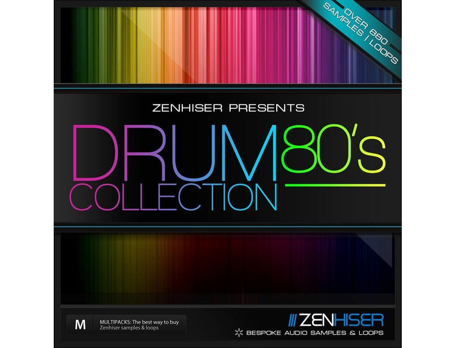 Zenhiser The 80's Drum Collection
