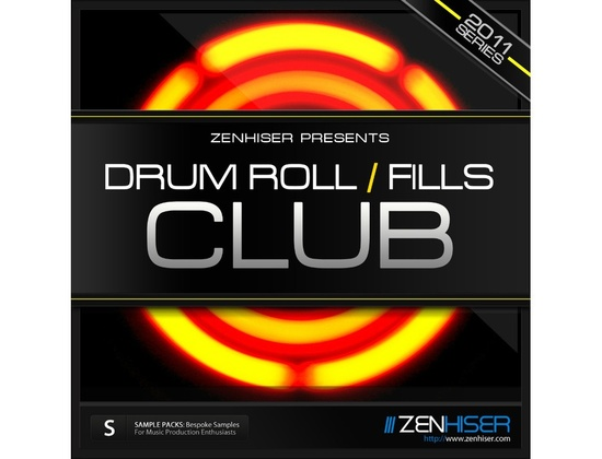 Zenhiser Drum Rolls And Fills - Club