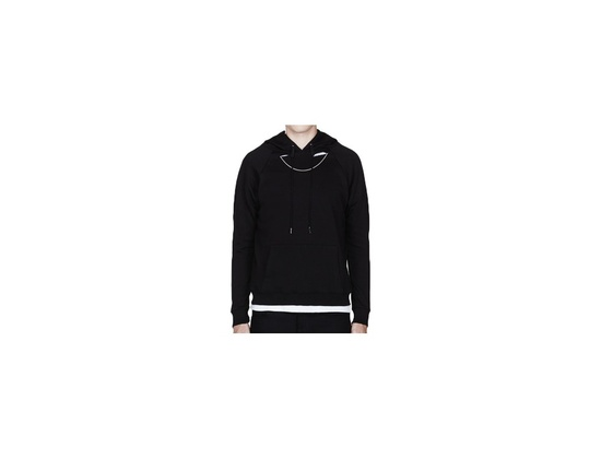 Saint Laurent Black Peekaboo Chain Hoodie