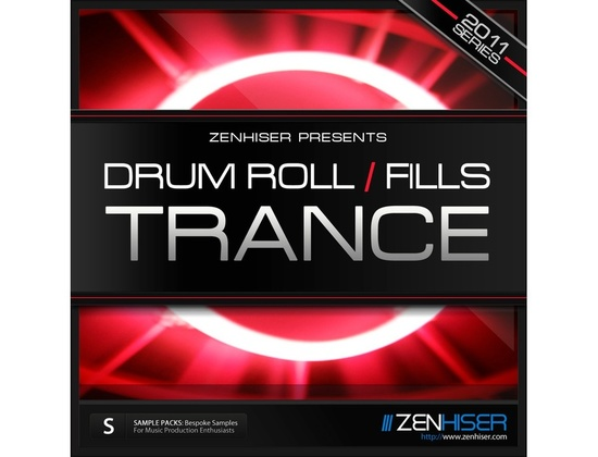 Zenhiser Drum Rolls and Fills - Trance