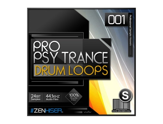 Zenhiser Pro Psytrance Drum Loops 01