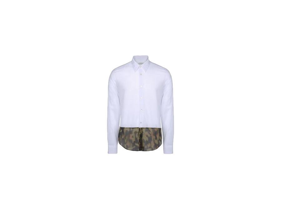 Dries Van Noten White Button Shirt