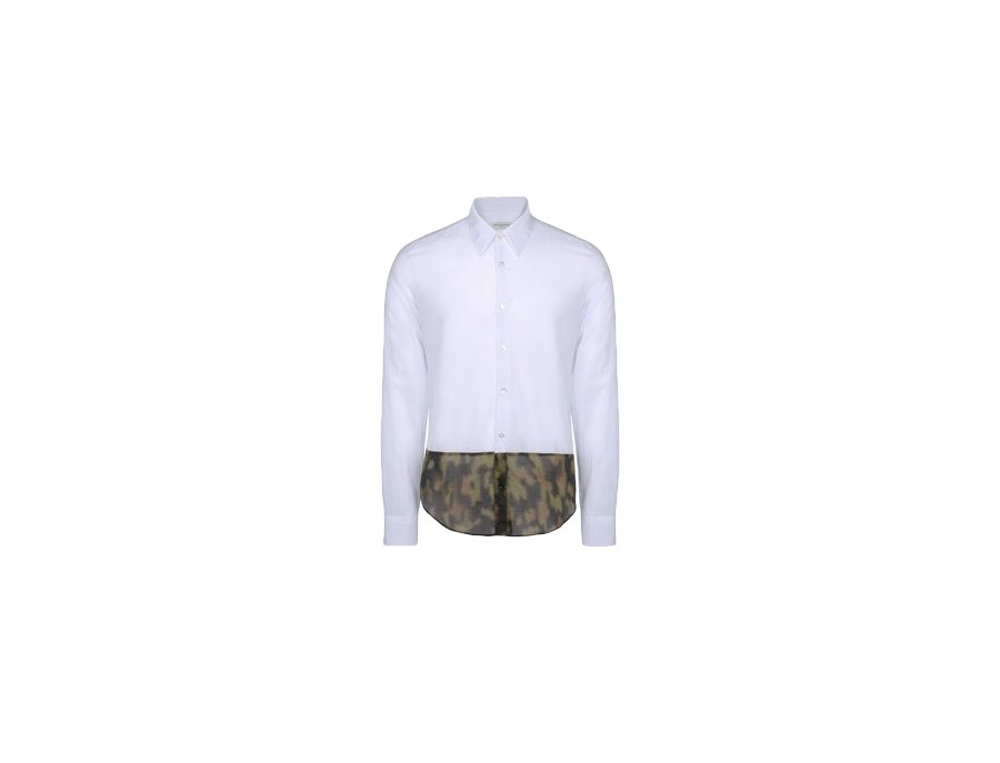 Dries Van Noten White Button Shirt