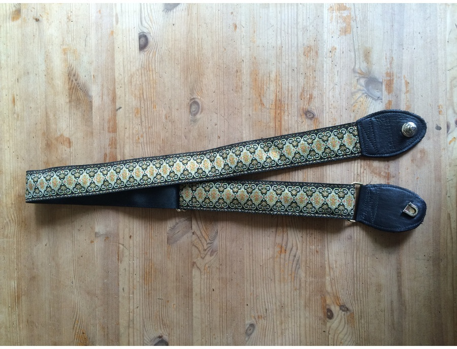 Souldier Persian Black Guitar Strap