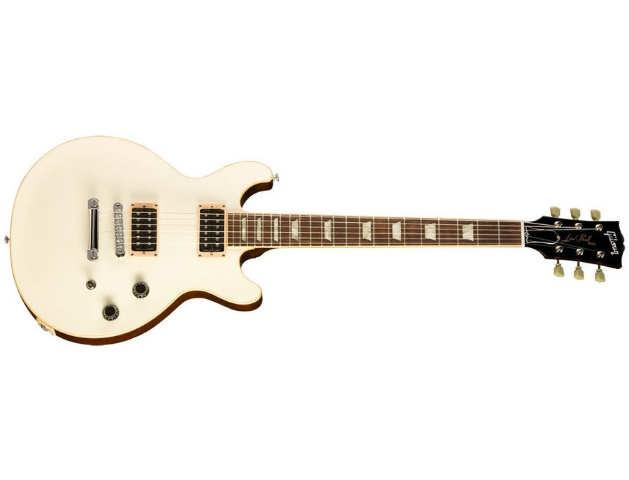Gibson Les Paul Doublecut Classic Exclusive Classic White w/Dark Back