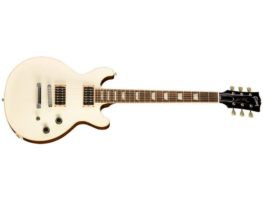 Gibson Les Paul Doublecut Classic Exclusive Classic White w/Dark Back
