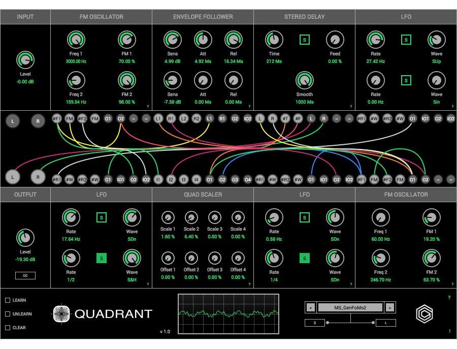 GlitchMachines Quadrant