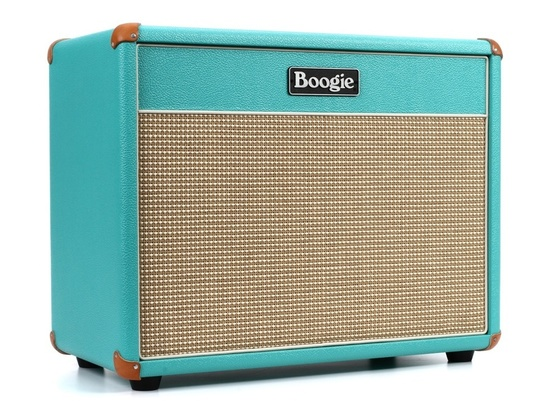 "Mesa/Boogie Lone Star 23 - 90W 1x12"" Cabinet - Teal Bronco"