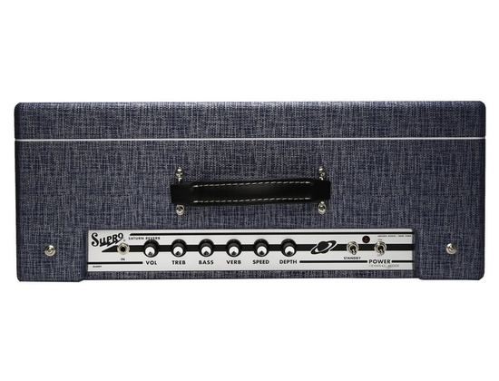 """Supro 1648RT Saturn Reverb - 15W 1x12"""" Guitar Combo Amp"""