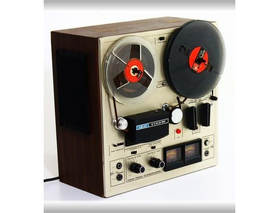 AKAI 1722W Handy Compact Stereo Tape Recorder