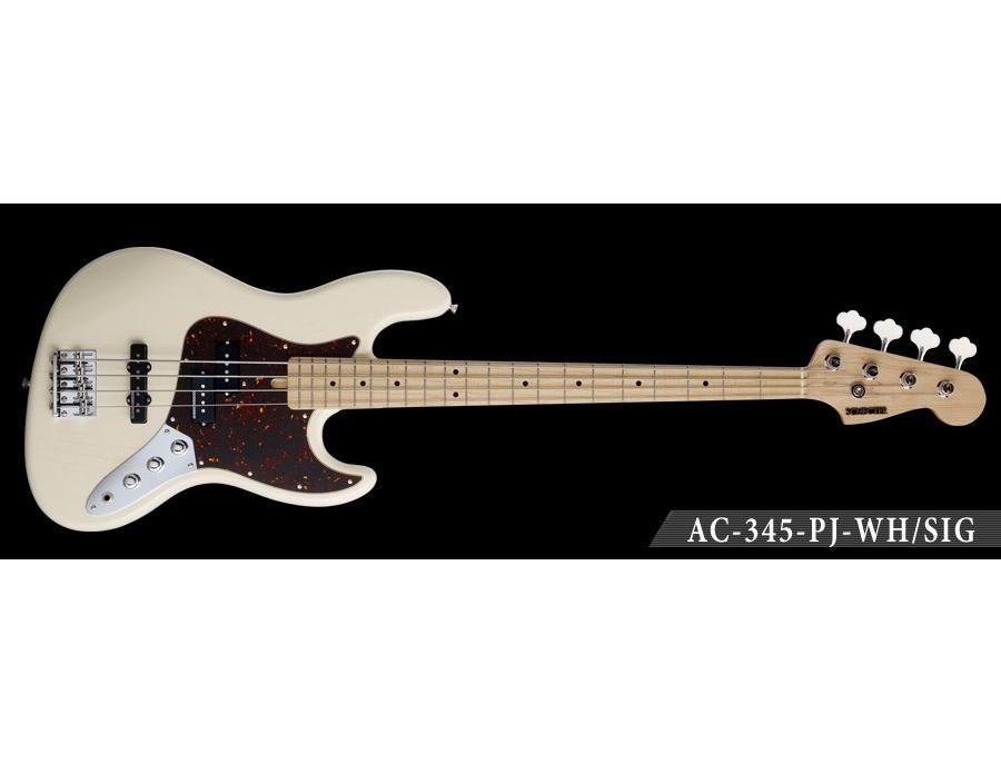 Schecter-AC-345-PJ-WH/SIG