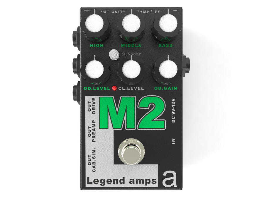 AMT Electronics M2 Guitar preamp