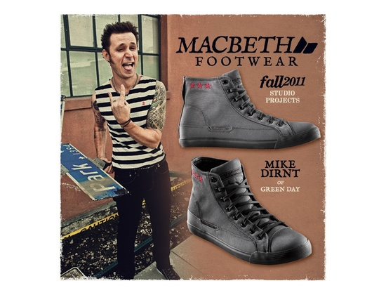 Macbeth Footwear Mike Dirnt Shoe