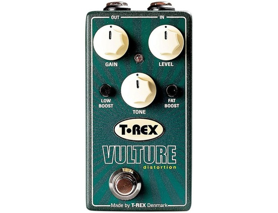 T-Rex Engineering Vulture Distortion Guitar Effects Pedal