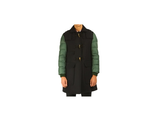 Carven Down Sleeves Duffle Coat